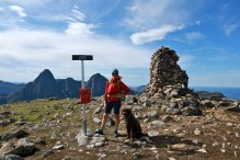 On Sørkulen - the highest point on the route