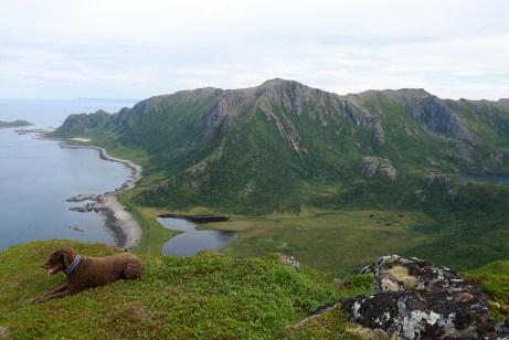 On top of Mælen
