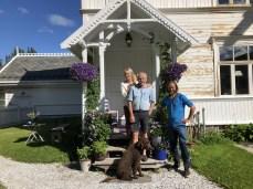 Lillian, Erland, Karma and me