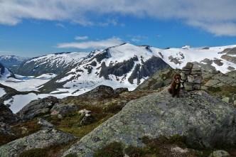 Karma on top of Blåfjellet