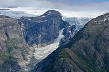 Brenndalsbreen glacier