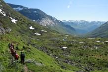 Descending into Haugadalen