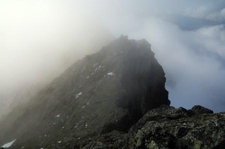 The west ridge