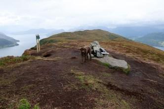 On top of Galten