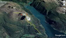 My route across Kinnfokfjellet and Fjøsnenosi