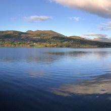 Along lake Rotevatnet
