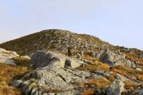 On the ridge to Sollia