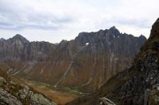 Kolåstinden on the other side of Romedalen