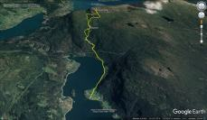 Our route to Solvornnipa