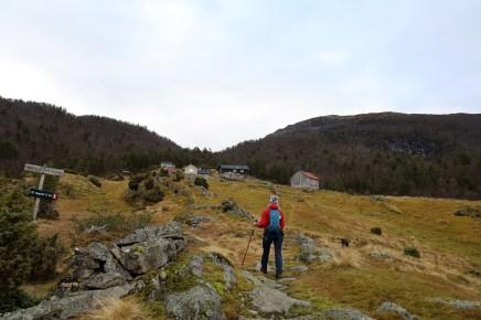 Arriving at Helgasete