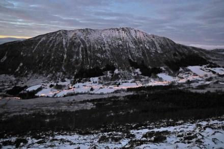 Garnestua across Ringstaddalen