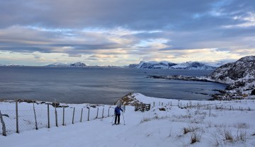 On the road up from Goksøyr