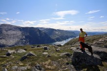 A nice day above the Tosen fjord