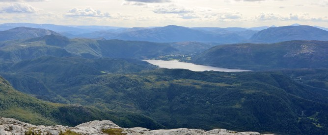 Lake Sausvatnet - childhood memories!