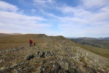 Towards the Gråsida summit