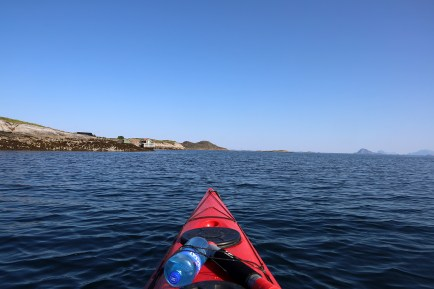 On my way to Gjessøya