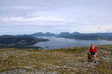 On Fløystadfjellet (Skarven)