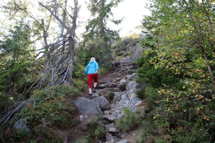 On the trail to Jonsknuten