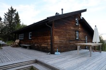 Our rented cabin at Lifjell. Quite fancy, at least on the inside