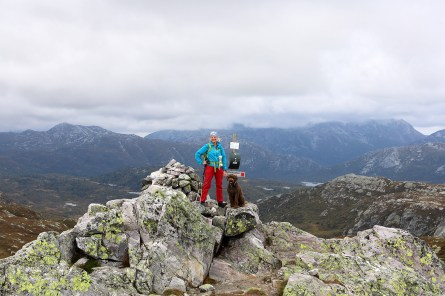 On top of Øysteinnatten