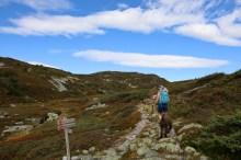 Jøronnatten ahead (near Åstul)