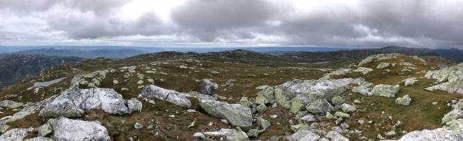 Iphone8 panorama from Øysteinnatten