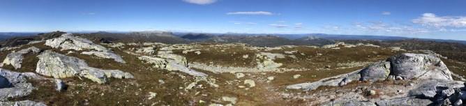 Iphone8 panorama from Jøronnatten
