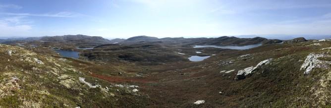 Iphone8 panorama from Blomtjønneggin (1/2)