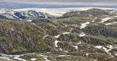 Jostefonn glacier, zoomed in