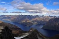 The Hjørundfjord seen from Skårasalen
