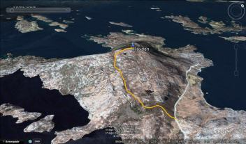 The route to Hovden