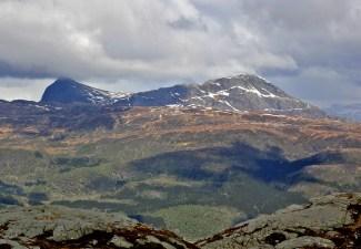 Håsteinen and Høydalsnipa