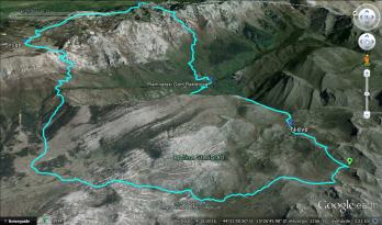 The Struge - trailhead route