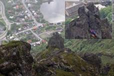 Climbers on Geita