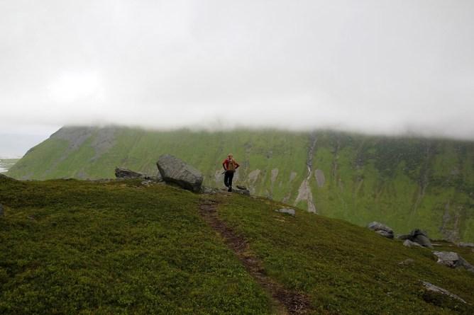 The final descent...
