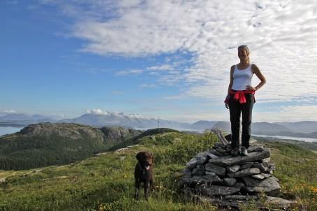 On top of Mindlandet island