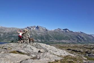 On top of Hamnøya