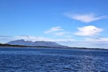 Vega island in the distant