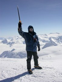 On top of Greenland (me)