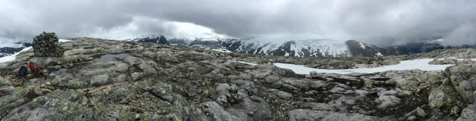 View from the cairn