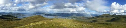 View from near Øyrahornet