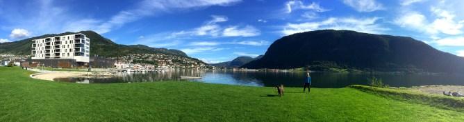 Sogndal, lunch break