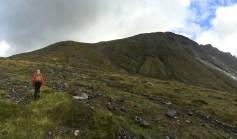 Aiming for the ridge