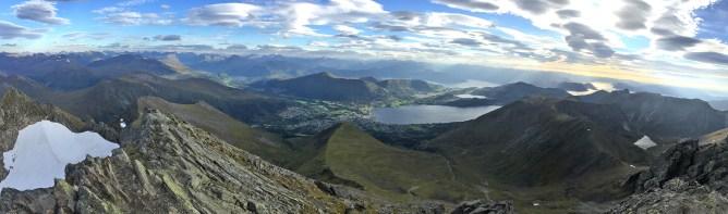 Saudehornet summit view (2/2)