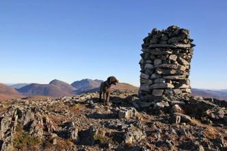 On top of Lønsetfjellet