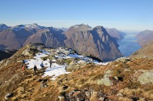 On the ridge to Høghornet