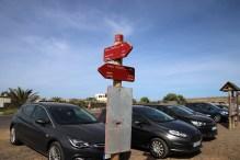 Calderon Hondo signpost