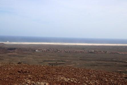 The sandy desert south of Corralejo