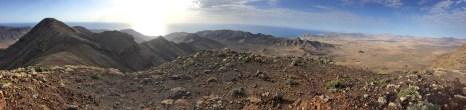 In the pass between El Roque and Vigan