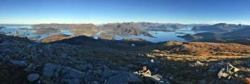 View from Rjåhornet